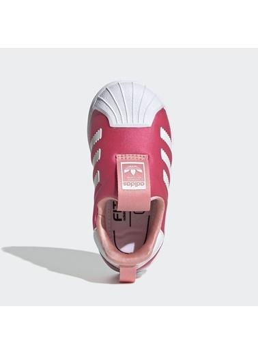 adidas Unisex Çocuk Superstar 360 Spor Ayakkabı EF6629 Pembe